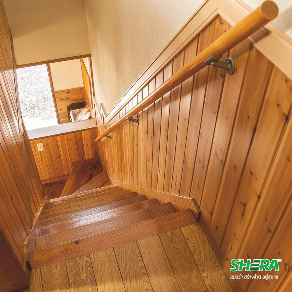 Ốp tường, cột Giả gỗ (Vân gỗ)