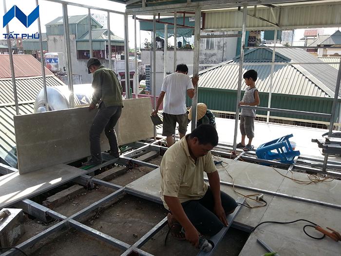Đơn vị thi công sàn trần vách tấm Cemboarrd TPI – Thái Lan chuyên nghiệp nhất
