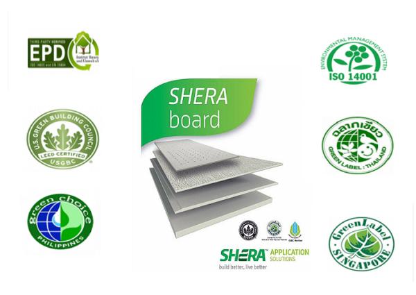 Logo chứng nhận tấm Shera
