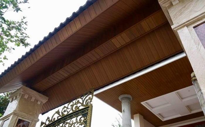 Thanh diềm mái trang trí cho chính căn nhà