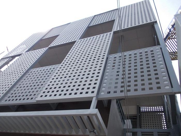 Tấm Uco đục lỗ cho công trình hiện đại
