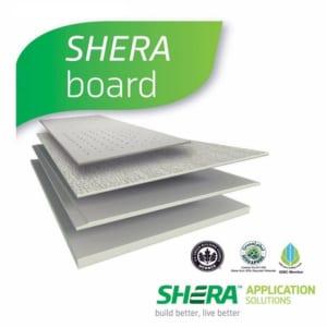 Các loại tấm xi măng Cemboard - Tấm Cemboard sợi Xenlulo Shera board