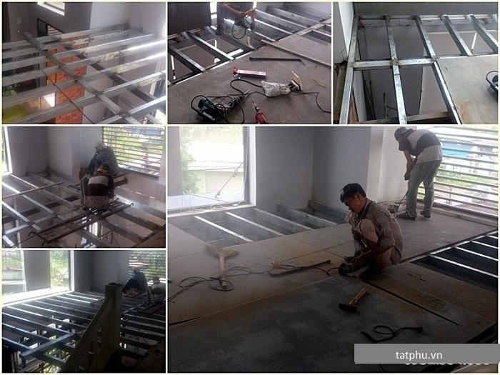 Công ty thi công sàn nhẹ tấm duraflex ở đâu tại Hà Nội có tay nghề cao, chuyên môn tốt
