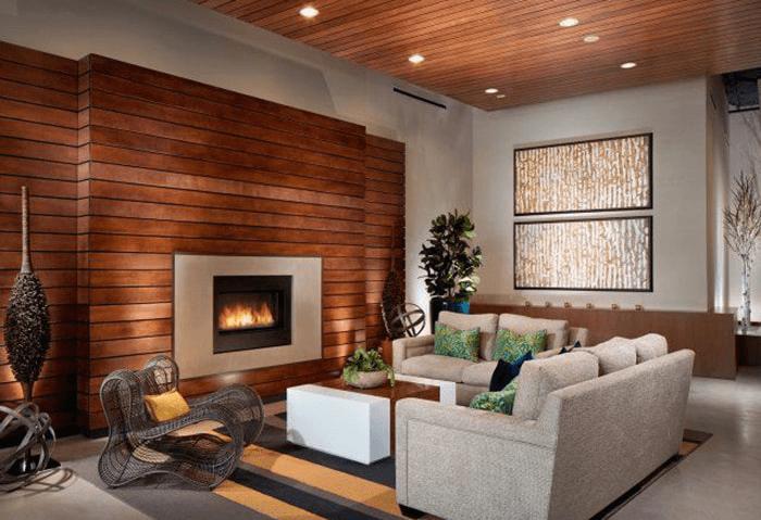 Lợi ích khi dùng gỗ nhân tạo để ốp trần nhà.