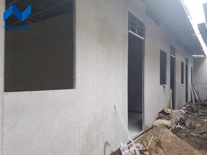 Tấm cứng duraflex vĩnh tường làm sàn vách trần bảo hành 50 năm