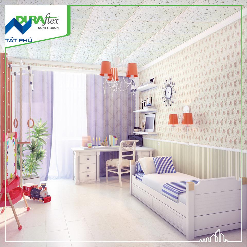 Vật liệu Duraflex ứng dụng làm trần, tường, sàn – đẳng cấp mới trong xây dựng hiện đại