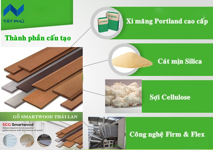 Giả gỗ scg smartwood Thái Lan – Đỉnh cao của sự sáng tạo