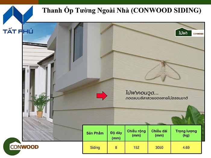 Ứng dụng nổi bật của tấm gỗ nhân tạo conwood.