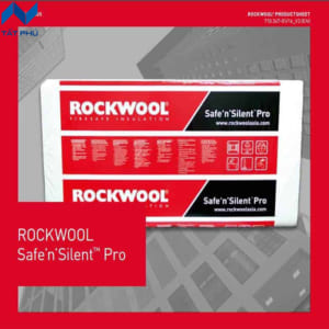 Bông khoáng ROCKWOOL SAFE 'N' SILENT PRO