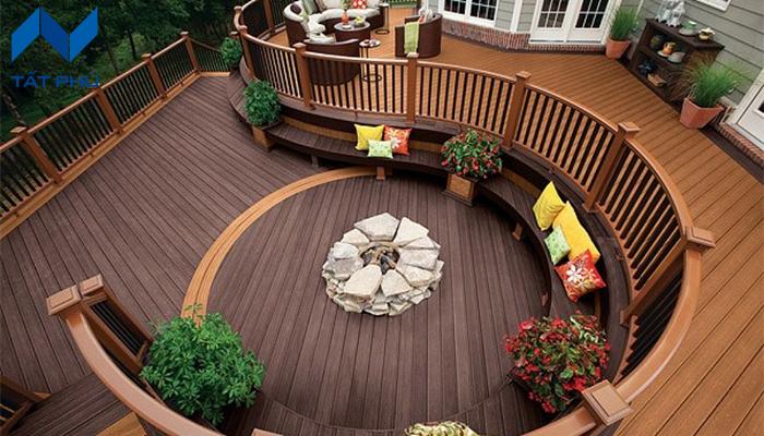 Cấu tạo của tấm sàn gỗ conwood.