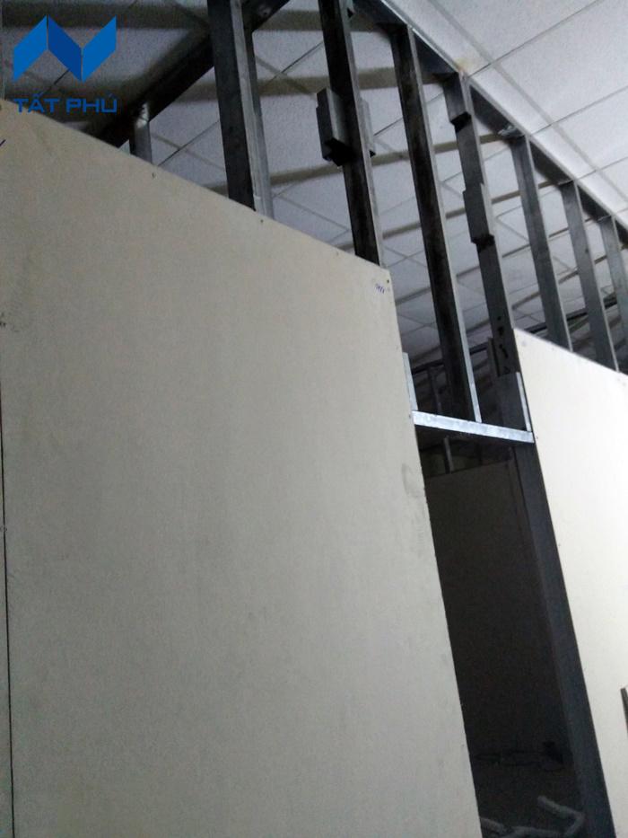 Thi công vách ngăn nhẹ bằng tấm bê tông nhẹ Duraflex 2X