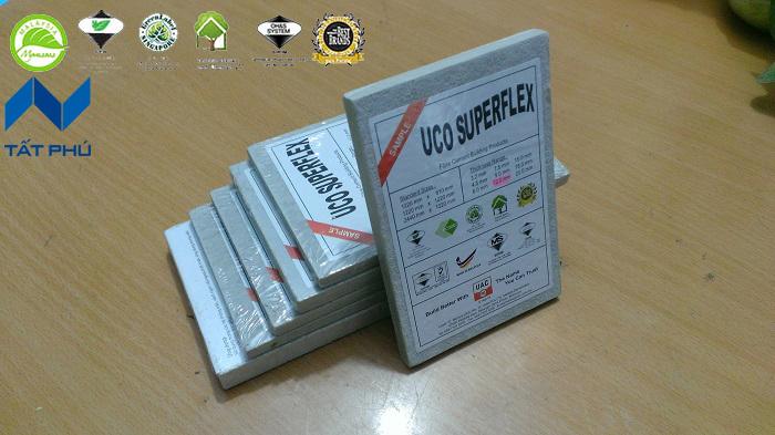 Khái niệm về tấm xi măng nhẹ Uco Superflex.