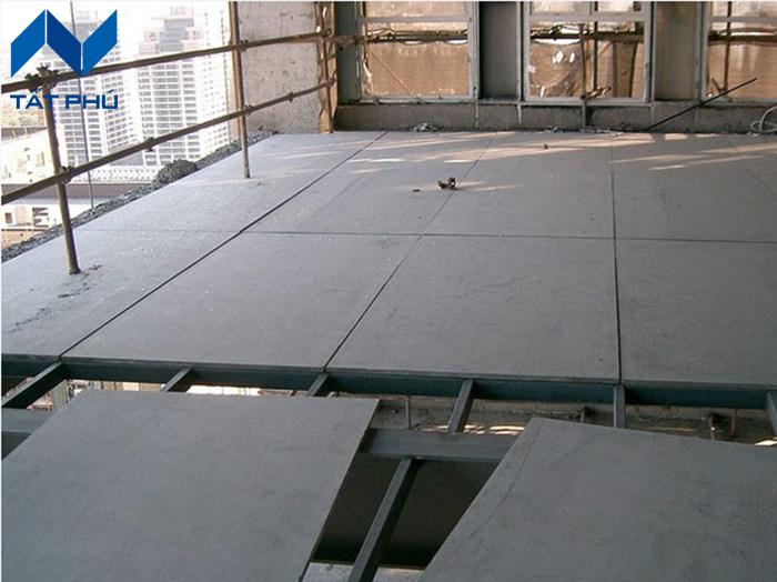 Tam xi mang chiu nuoc Duraflex làm sàn, vách ngăn, trần bảo hành trong 50 năm