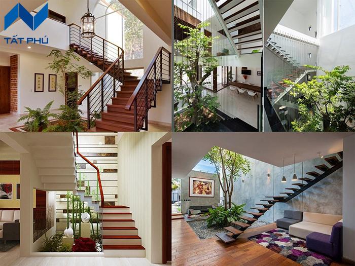 Thanh ốp gỗ nhân tạo làm cầu thang smartwood – kiến trúc xanh cho không gian sống