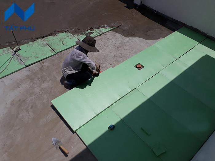 Hướng dẫn thi công tấm eco xps foam làm trần cách nhiệt