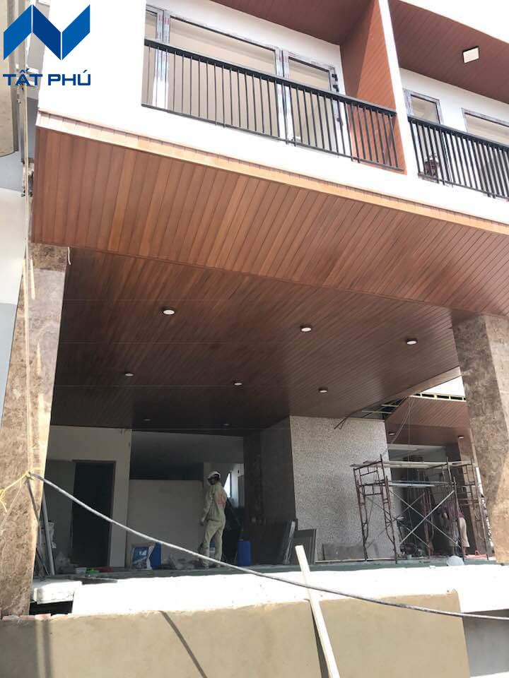 Tấm gỗ nhân tạo làm trần Cemboard giá rẻ tại Hà Nội
