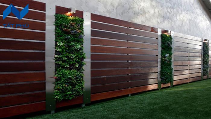 Tấm Conwood làm tường rào siêu đẹp sẽ làm bạn phải ngỡ ngàng