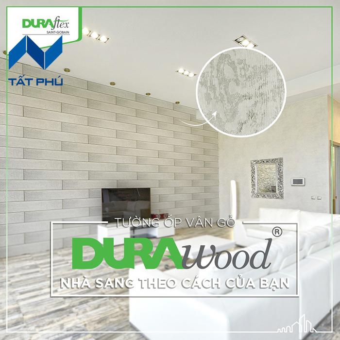 Tấm ốp giả gỗ Durawood siêu bền có gì đặc biệt
