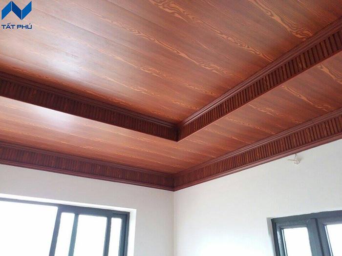 Thành phần cấu tạo của gỗ nhân tạo làm trần Cemboard.