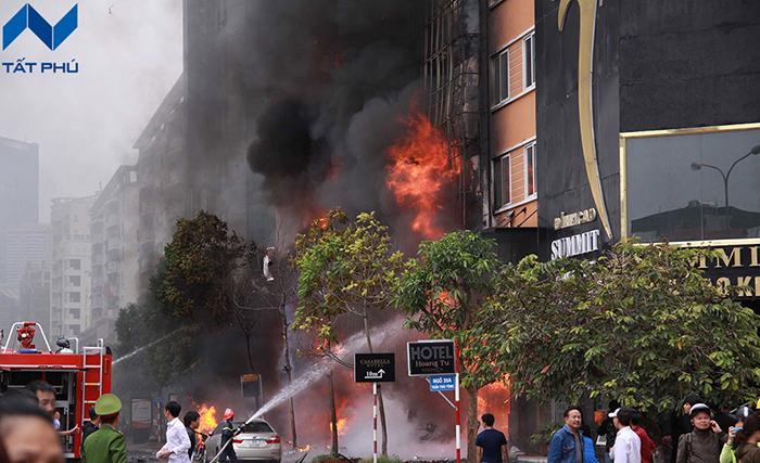 Tìm hiểu tình trạng cháy nổ ở việt Nam những năm trở lại đây.