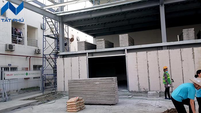 Tìm hiểu về tấm tường bê tông xốp EPS – Vật liệu nhẹ giá rẻ