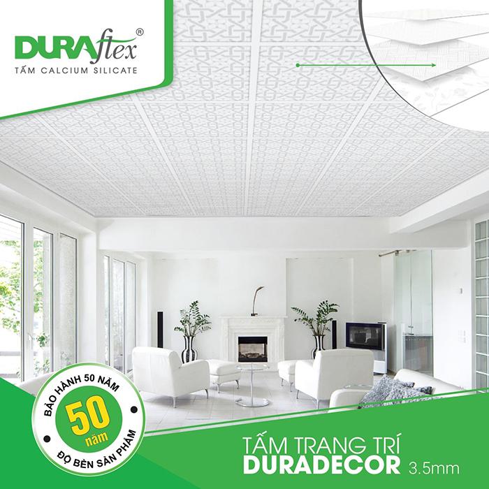 Tấm trần Duraflex – Mang lại vẻ đẹp đẳng cấp mới cho ngôi nhà bạn