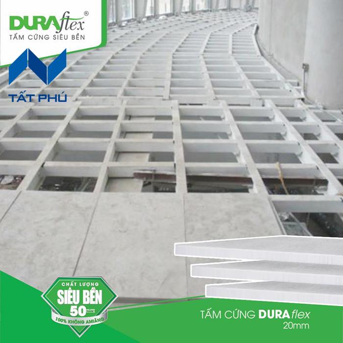 Tấm xi măng lót sàn Duraflex giải pháp thay thế cho các vật liệu truyền thống