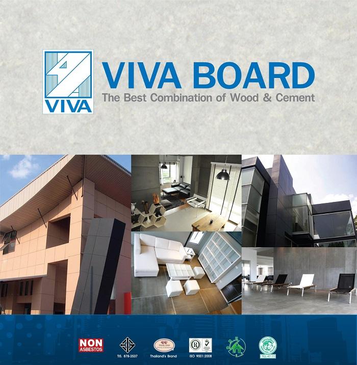 Các ứng dụng thực tế của tấm Vivaboard – Thái Lan.