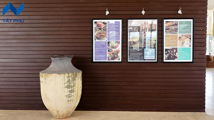 Tấm ốp mặt tiền giả gỗ giải pháp tối ưu đem lại vẻ sang trọng và tinh tế