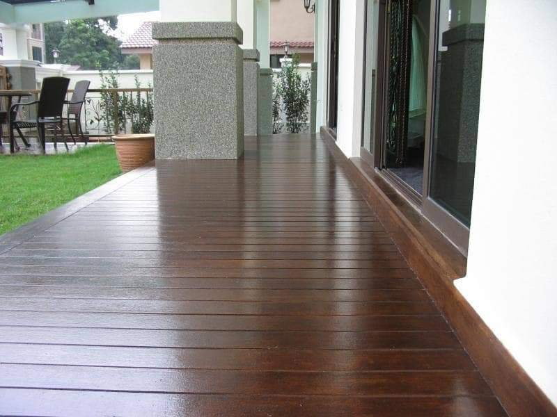 Sức hút của sàn giả gỗ ngoài trời – Vật liệu mới trong kiến trúc hiện đại