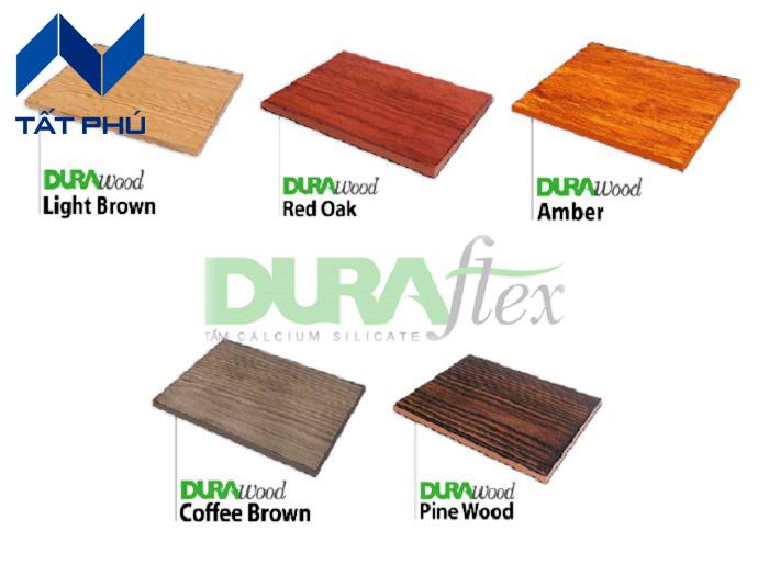 Tìm hiểu về 5 mẫu vân giả gỗ Durawood nổi bật nhất.