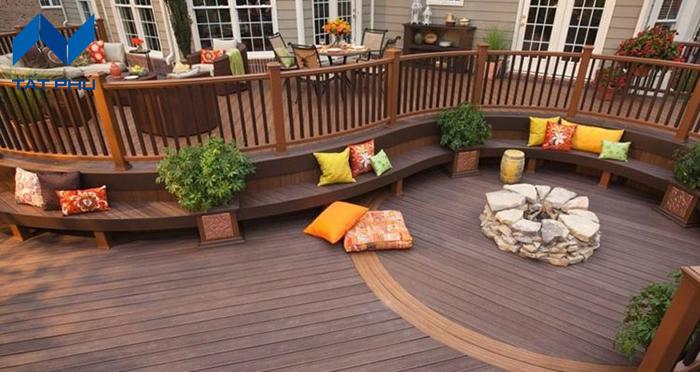 Tại sao nên chọn gỗ nhựa Composite trong trang trí sân vườn, tiểu cảnh.