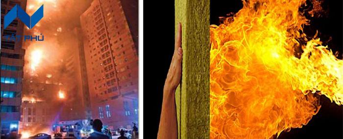 Bảo vệ con người và tài sản khi xảy ra hỏa hoạn