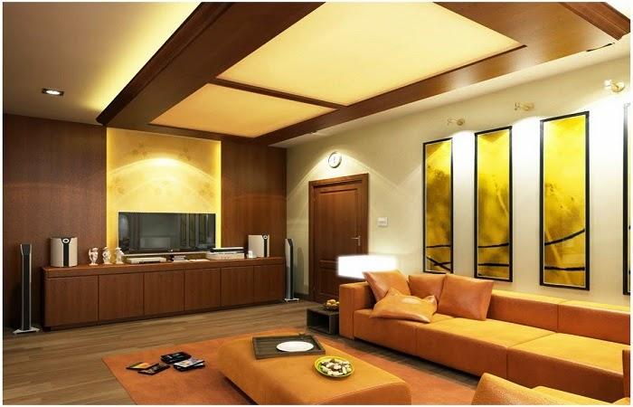 Ý tưởng thiết kế trang trí trần nhà bằng gỗ nhân tạo cho không gian ấm cúng sang trọng