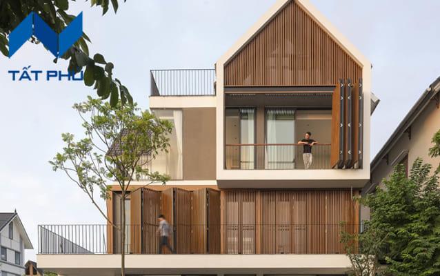 Thiết kế màu sắc bắt mắt, giống với gỗ tự nhiên.