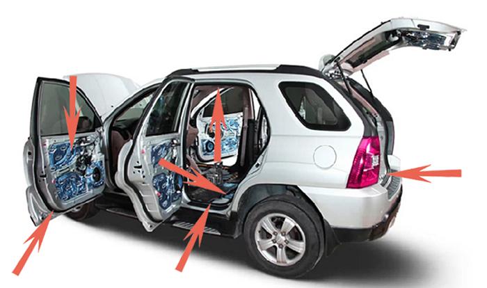 Đi tìm giải pháp cách âm chống ồn tốt nhất cho xe hơi