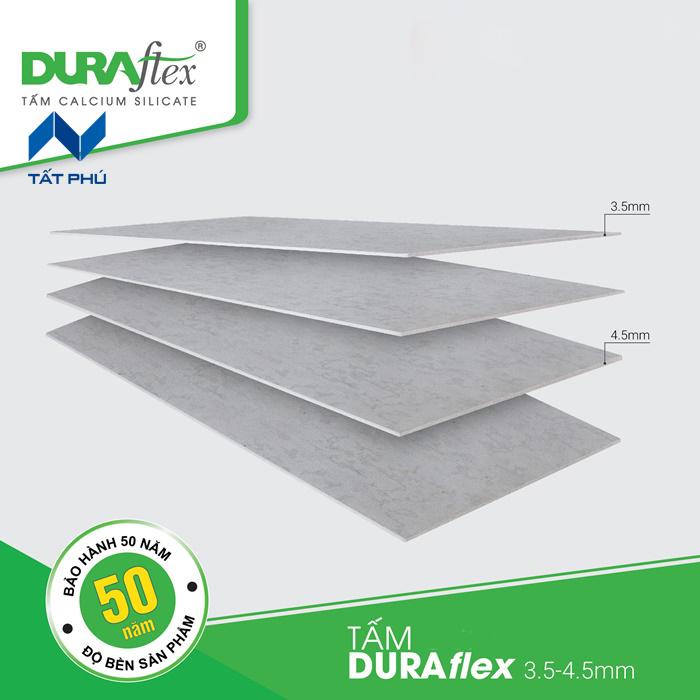 Hướng dẫn phân loại tấm Duraflex theo độ dày và từng ứng dụng riêng biệt