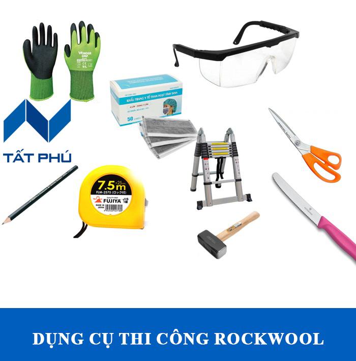 Bật mí phương pháp thi công Rockwool Thái Lan đúng kĩ thuật