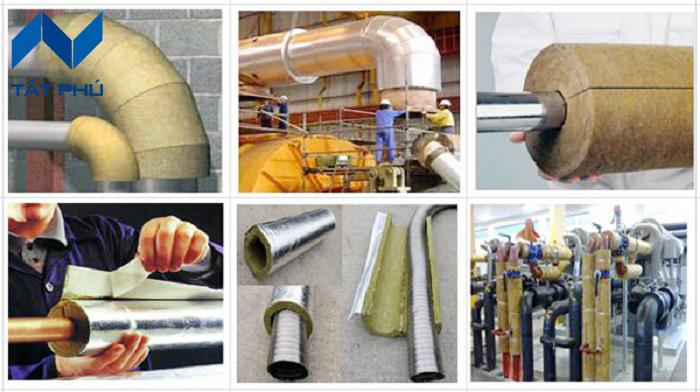 Tham khảo những ưu điểm nổi bật của bông ống định hình Rockwool.