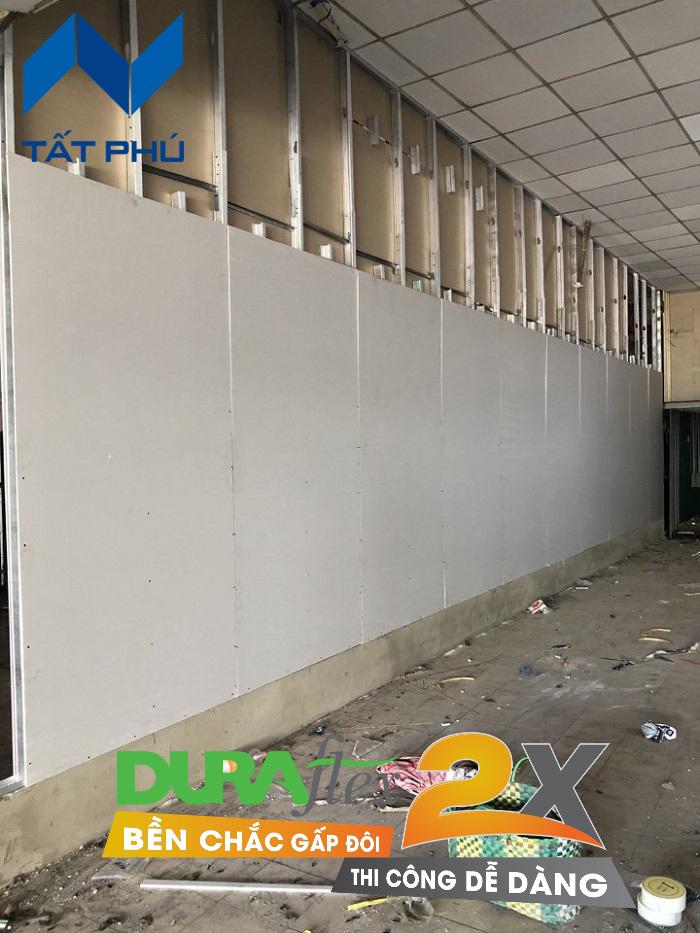Tại sao nên dùng tấm Dura2x làm vách/tường.