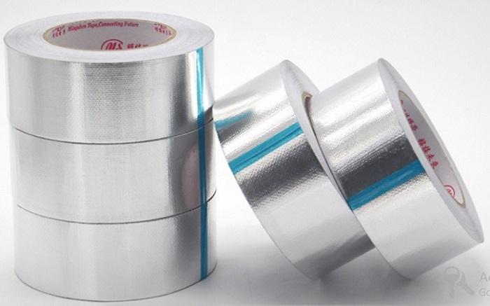Băng dính bạc chuyên sử dụng cho thi công bông khoáng