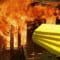 Bông khoáng Rockwool chống cháy – Lí do bông Rockwool lại kháng được lửa