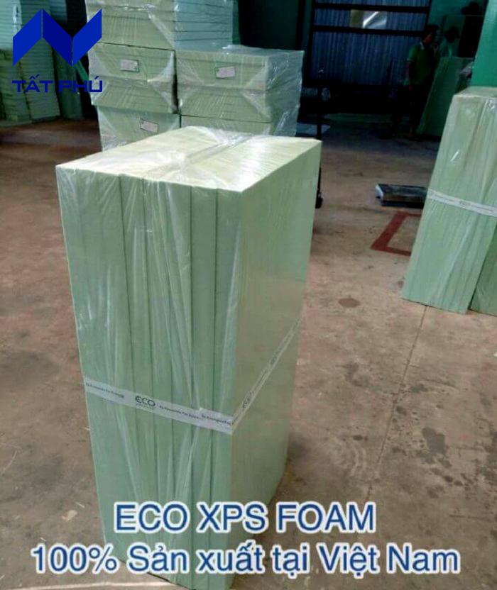 Dưới đây là một số đặc điểm nhận diện nhận biết xốp Eco XPS Foam chính hãng.
