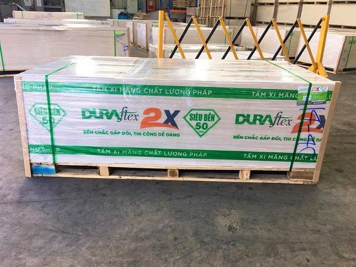 Cách nhận biết tấm xi măng nhẹ Duraflex 2x chính hãng
