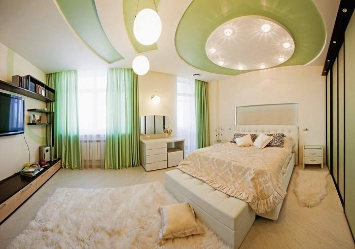Top 20+ mẫu trần thạch cao đẹp và độc đáo cho phòng khách, phòng ngủ hot nhất năm 2020