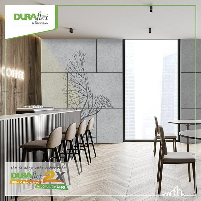 Chiêm ngưỡng những hình ảnh về tấm Duraflex 2x-Durawood.