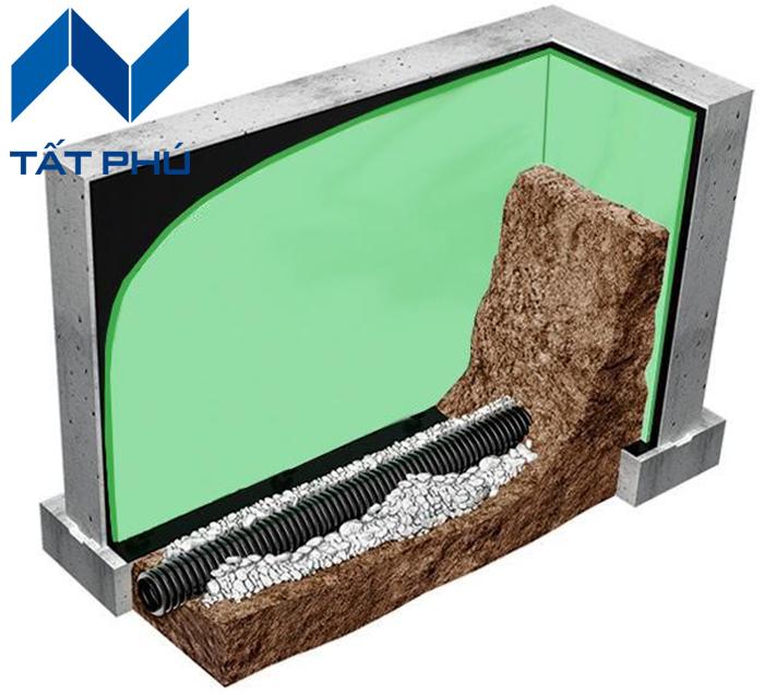 Giải pháp cách nhiệt cho tầng hầm.