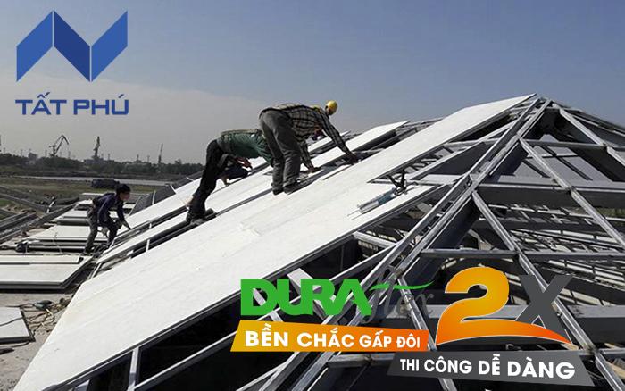 Các ứng dụng của tấm xi măng sợi Dura 2X trong thi công xây dựng hiện đại