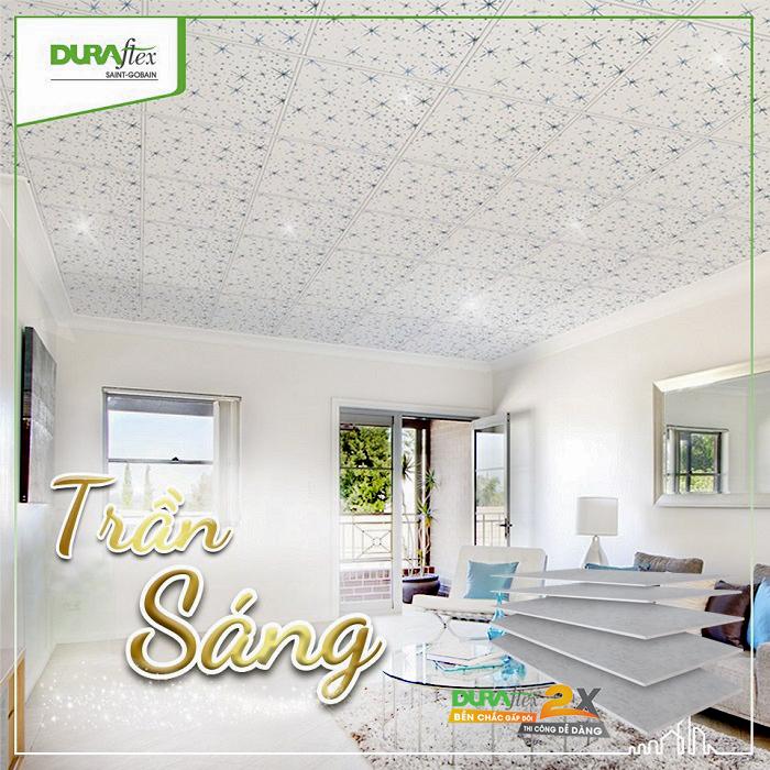 Tấm trần Dura2x – Nâng tầm cho trần nhà lên một đẳng cấp mới