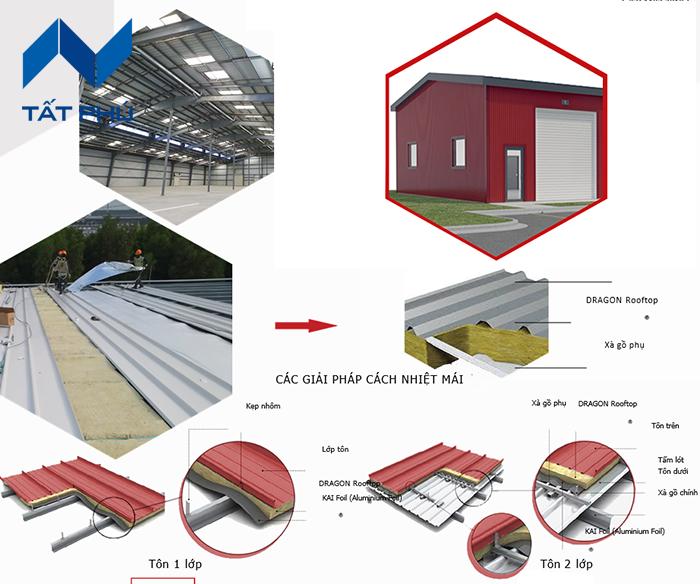 Bông sợi khoáng Dragon Rooftop cách nhiệt cho nhà thép tiền chế liệu có tốt?